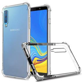b8a1bb3db96 Capa Anti Shock E Pelicula De Vidro Samsung A7 2018 -sm-a750