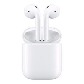 Fone De Ouvido Sem Fio Apple Airpods Mmef2be/a Com Chip W1