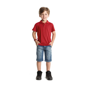 Camisa Polo Bege Rovitex - Calçados 23ab9f8c8a335