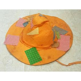 Sombrero Disfraz Artesanal Bruja Maniqui Monigote Hallowen 23eb2fb7831