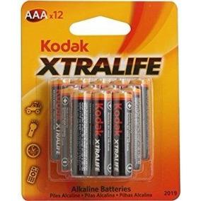Pilha Alcalina Aaa C/12 - Xtralife Kodak - (10634)