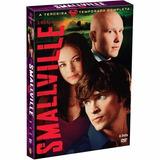 Dvd Smallville: 3ª Temporada Completa (6 Dvds) Usado