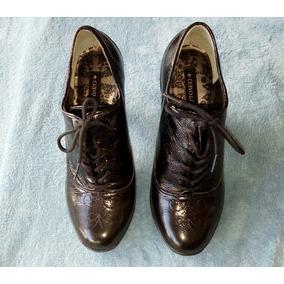 9d3d2f7540 Sapato Oxford Dourado Cravo E Canela - Sapatos no Mercado Livre Brasil