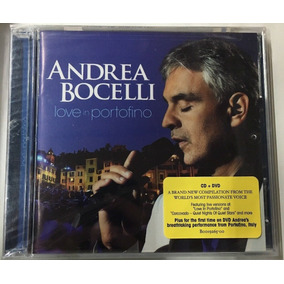 Cd Dvd Andrea Bocelli Love In Portofino [import] Lacrado