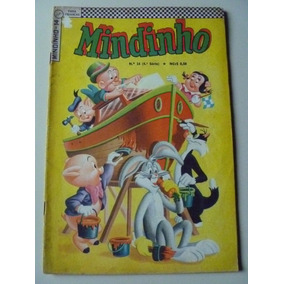 Mindinho Nº14 (4ª Série) Março 1970 Ebal Muito Bom!
