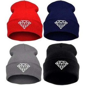 Touca Gorro Beanie Diamond Zac Justin Diamante Hip Hop 18bcaa53e08