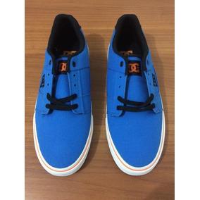 Tênis Dc Shoes Bridge Tx, Bright Blue, Us 10 Br 41/42