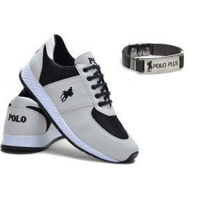 Tênis Polo Sport Plus Masculino Feminino Jogger + Brinde