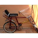 Vagabundo Bicicleta Roja Retro