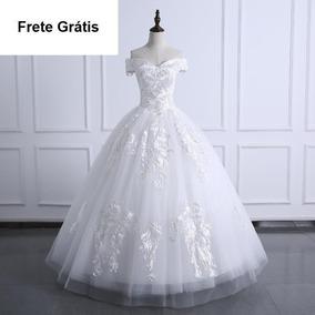 Vestido De Noivas 168546 Festa Serie Luxo Princesa