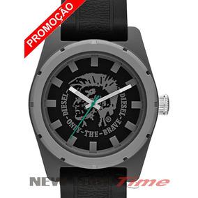 03a8e1a7c66 Relogio Seculus Masculino Pulseira Em Borracha Diesel - Relógios De ...
