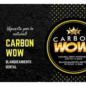 Blanqueador Dental Carbón Activado. Carbonwow El Original