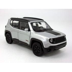 Carrinho Jeep Renegade Trailhaw Cinza - Ferro E Fricção