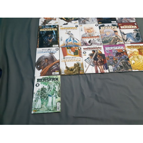 Coleção Mangá Berserk Primeira Publicação Raras 1 Ao 16