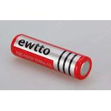 Bateria Foco Recargable 3.7v 4.2v 3500mah Lithium Tactico