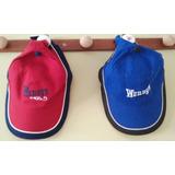 2 Gorras Roja Y Azul, Nuevas