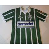 17b0ed51bd Camisa Palmeiras Parmalat Rhumell Anos - Futebol no Mercado Livre Brasil