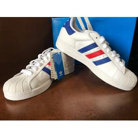 c8da3ba9375 Adidas Star Branco Com Listras Vermelhas Tamanho 37 - Tênis no ...