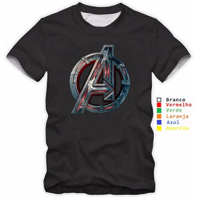 Camisa Personalizada Os Vingadores - Camisetas e Blusas no Mercado ... 17099a007bf75