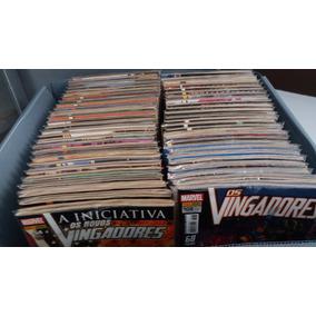 Coleção Vingadores Panini 1 Ao 108