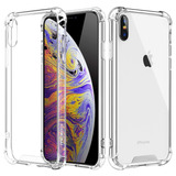 Capa Anti Shock Iphone Xs Max E Pelicula De Vidro 3d Tela To