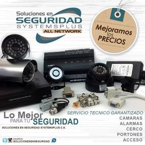 Instalación Camaras Seguridad Alarmas Acceso Cerco Porteros