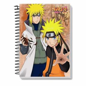 Caderno 10 Matérias Naruto Personalizado