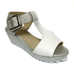 0991c480 Plataformas Plateados - Zapatos Mujer en Mercado Libre Venezuela