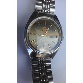 f8dacf118f3 Relogio Orient 3 Estrelas 21 Jewels Bonito - Relógios no Mercado ...