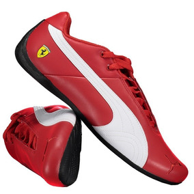 Tênis Puma Ferrari Vermelho Future Cat Og Couro Original d5402754c0316