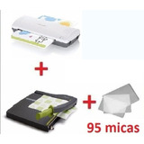 Combo Enmicadora + Guillotina + 95 Micas Envío Gratis