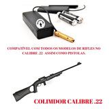 Cartucho Colimador Laser Cal .22 Calibrado Rifles Cbc 7022