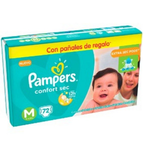 Pampers Confort Sec M 72