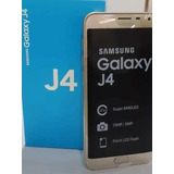 Samsung J4. 32 Gb. Disponible Solo Dorado.