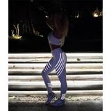 Leggings Deportivos Brillantes Gym Yoga Crossfit Stretch