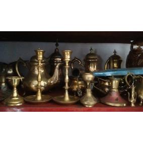 Piezas De Bronce Importadas Antigüas. Arabia, Egipto, India