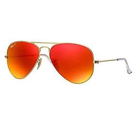 210afe1039f10 Gafas De Sol Estilo Aviador De Metal Grande Ban Ban Rb3025