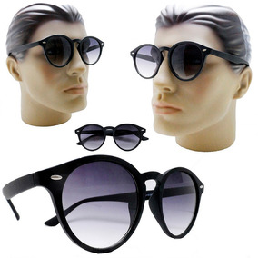 b59e38270ac74 Óculos De Sol Retro Redondo Masculino Grande Degrade Barato · R  59