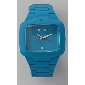 Nixon Oversized Rubber Player Watch Blue X
