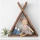 Juego 3 Repisa Teepee Tipi Infantil Nórdico Montessori Niños