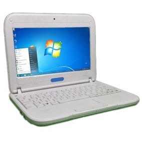Mini Laptop Lenovo -c-a-n-a-i-m-a- Letras -a-z-u-l-e-s--
