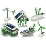 Juguete Educativo Solar Kit 6 En 1 Ciencia Robotica 3 Cajas