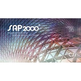 Programa - Sap2000 V20 32 Bits Y 64 Bits Ultima Version