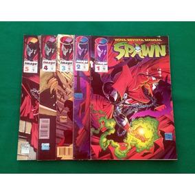 Spawn Abril - 57 Revistas Do 1 Ao 58 (menos 44)