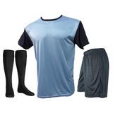 Pack 18 Camisetas Futbol Numeradas Short Medias Freetexs C3 559f8f29a31cc