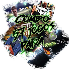 Combo 57 De Jogos Xbox 360 Mídia Digital+ Gta V De Brinde