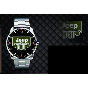 Relógio De Pulso Personalizado Jeep Willys 4x4 Off Road 001
