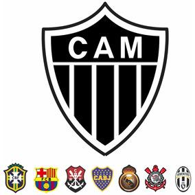 da108b1124 Adesivo Do Clube Atletico Mineiro - Acessórios de Motos no Mercado ...