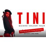 Tini Stoessel, Quiero Volver, Luna Park, 13-12 A Las 21:00