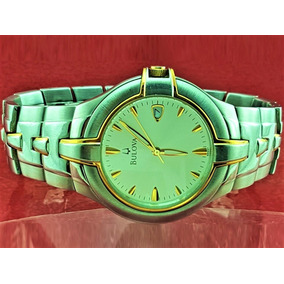 c2639da2daa Relogio Bulova Masculino Original Banhado A Ouro - Relógios De Pulso ...